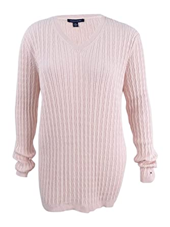 Tommy Hilfiger Women s Cable-Knit Sweater (XXL a400577b1