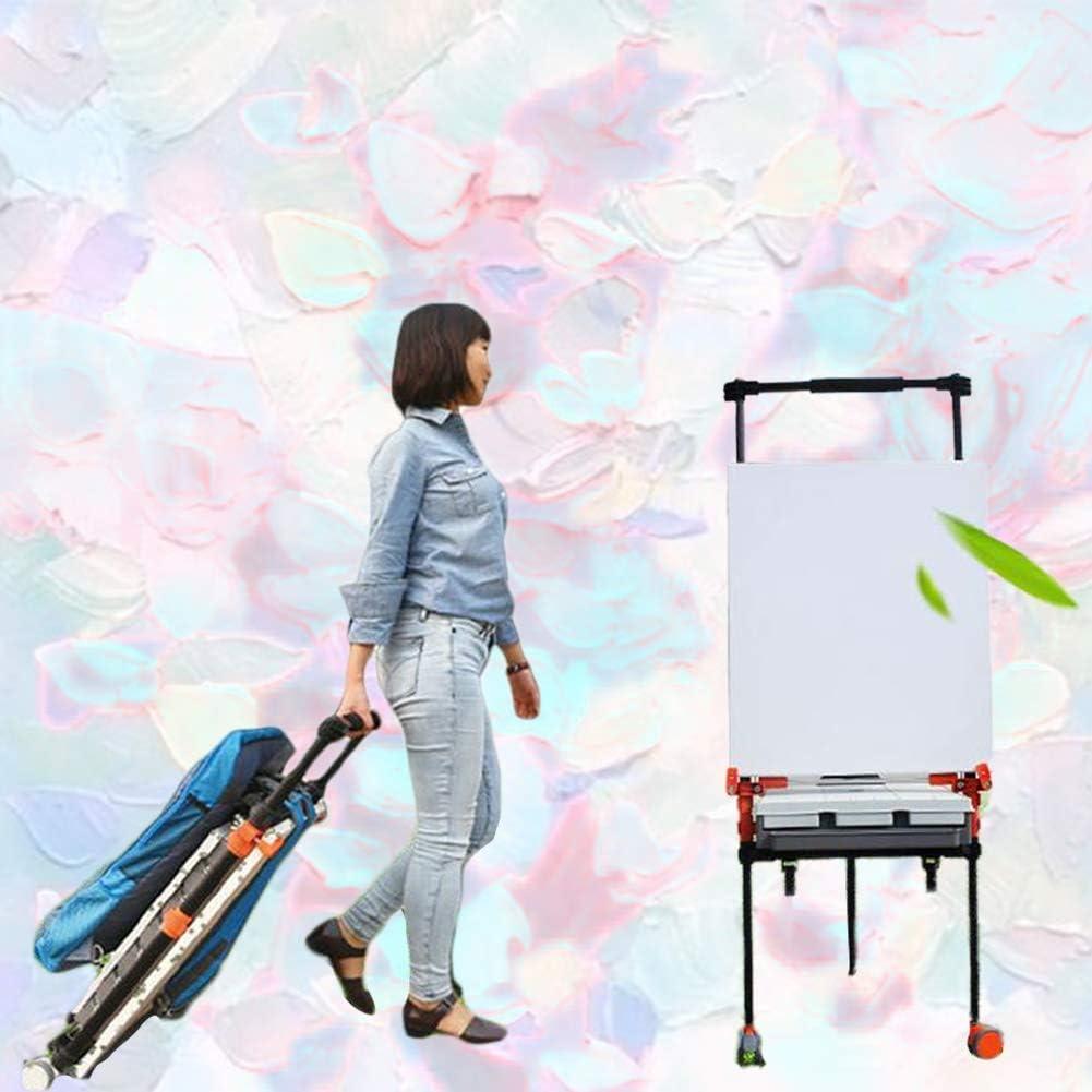 絵画カートサイレントホイールアーティストオイルイーゼル絵画スタンドの場合 画材 イーゼル SHANCL