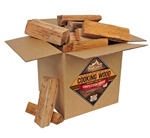 Smoak Firewood Cooking Wood Logs - USDA Certified Kiln Dried (Red Oak, 25-30 lbs)