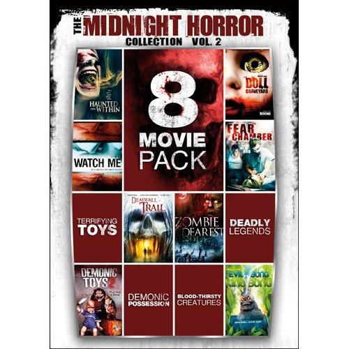 8-Movie Pack Midnight Horror Collection 2 Reino Unido DVD: Amazon.es: Cine y Series TV