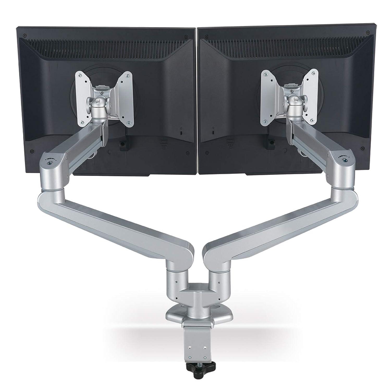 Brazo para Monitor LCD Dual neumático ROLINE para Montaje sobre ...