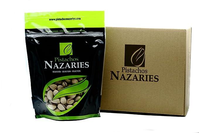 Pistachos Nazaríes - Pistachos Españoles de gran calidad, cuidadosamente seleccionados y tostados, crujientes y