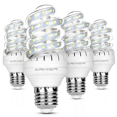 Bombillas LED E27 9W (equivalente a 80 Watt) 360 Degree Ángulo de haz 800