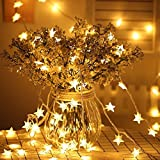 Best Outside Plug In Lights - Cuitan Fairy String Lights 5M 40 LED Warm Review