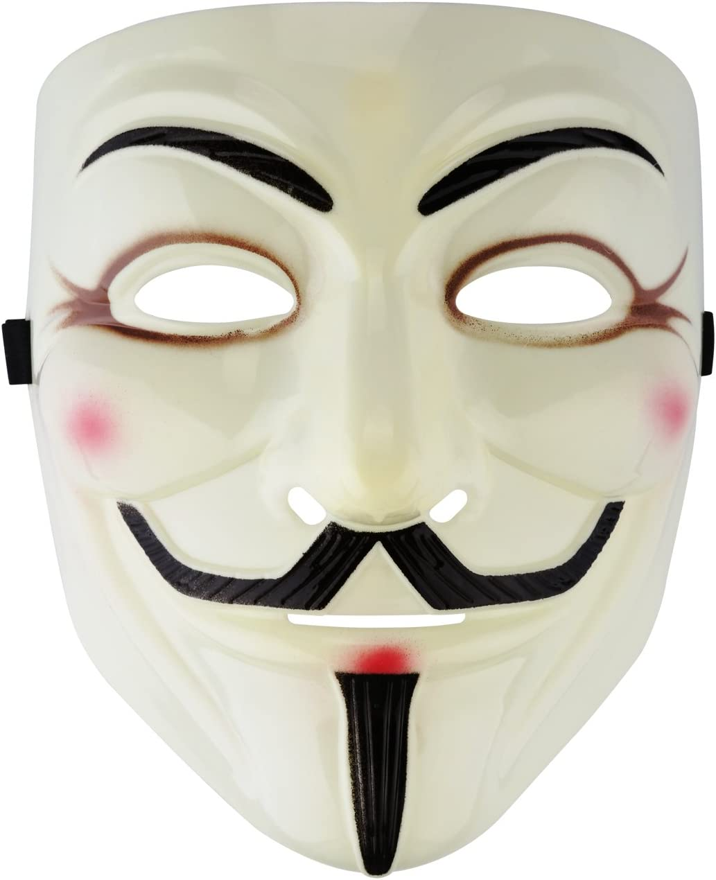 Vendetta Anonymous Mask Halloween Evil Horror Mens Ladies Fancy Dress Accessory