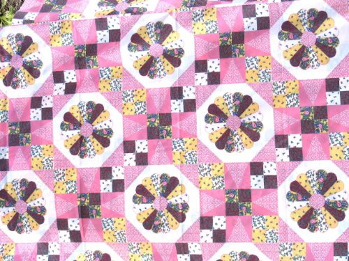Cheater Fabric Quilt Top 90
