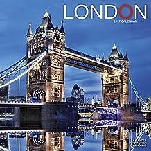England Calendar - London Calendar - Calendars 2016 - 2017 Wall Calendars - Photo Calendar - London 16 Month Wall Calendar by Avonside