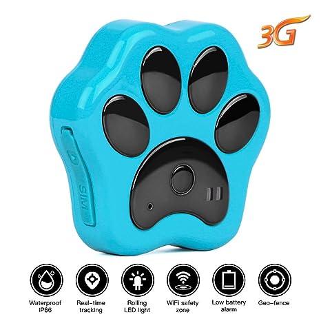 GPS, rastreador para Perro, Gato, Gato, localizador, Dispositivo de Seguimiento en