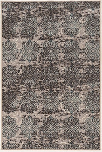Linon Vintage Collection Clara Synthetic Rugs, 5' x 7'6
