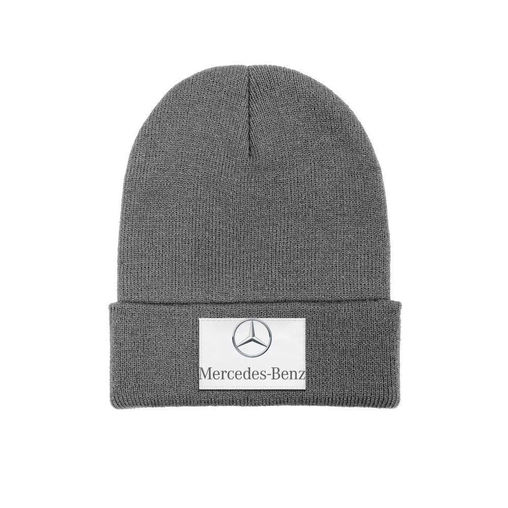 Winter Knit Cap coolgood Mens Women Beanie Hats Mercedes-Benz-Logo