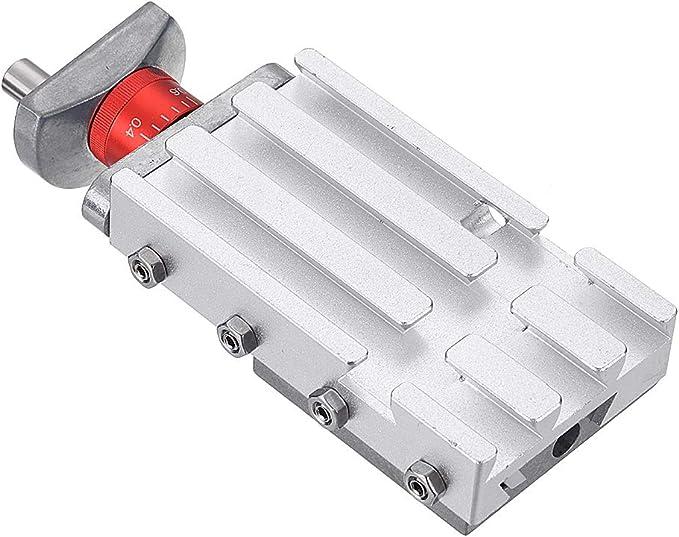 Hvlystory 118mm Metal Cross Slide Longitudinal Slide Block Z008m For Mini Lathe Feeding Relieving Axis Y Z Amazon Com