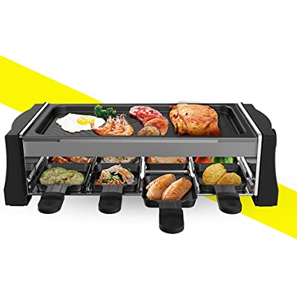 Quemador De Gas Infrarrojo Sin Humo Eléctrico Placa De Cocina Máquina De Kebab Temperatura Ajustable 1300W