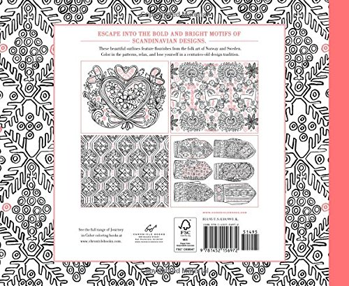 Journey In Color Scandinavian Designs Coloring Book Molly Hatch 9781452156972 Amazon Books