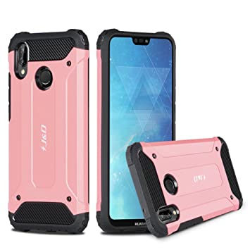 sneakers for cheap e1c58 744c8 J&D Case Compatible for Huawei P20 Lite Case, Heavy Duty [ArmorBox] [Dual  Layer] Shock Resistant Hybrid Protective Rugged Case for Huawei P20 Lite ...