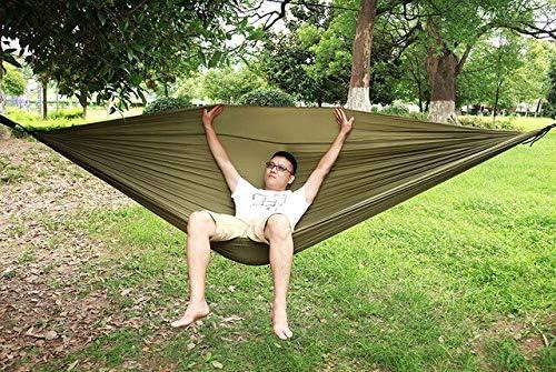 HUANGZHENYIN Hamaca para Dormir 2-3 Personas Hamak Jardín Swing Silla Colgante Cama Al Aire Libre Hamacas Artículos De Camping C H: Amazon.es: Jardín