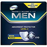 Absorvente Geriátrico 10Un Discreet Protection Men Unit, Tena