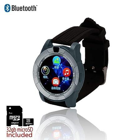 Indigi® 2 en 1 Smartwatch & GSM desbloqueado teléfono ...