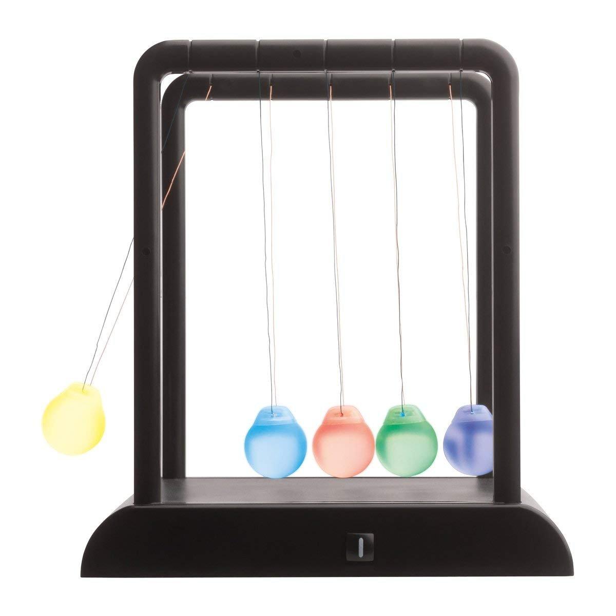 Newton Pendel Kugelspiel Kugelstosspendel mit LED Mood Light Beleuchtung von notrash2003