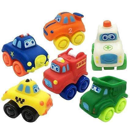 PriMI® - Juguete de goma para bebé, modelo de coche, para ...