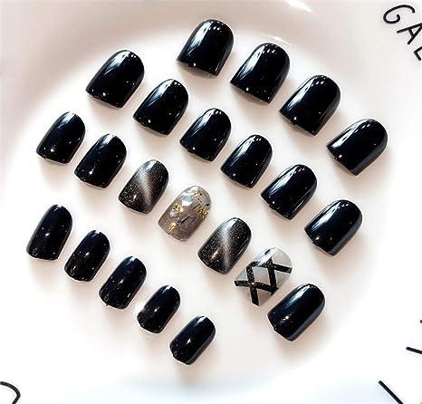 Amazon.com: Uzen - Juego de 22 uñas postizas para manicura ...
