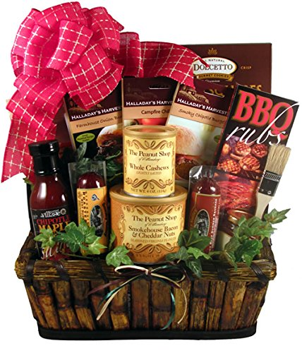 Gift Basket Village The Grill Master, Deluxe - A Grilling Gift Basket For Him, 9 Pound (Grill Gift Baskets)