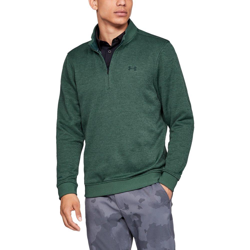 945d1aa24beb7 Galleon - Under Armour Men's Storm SweaterFleece 1/4 Zip, Ivy (384)/Ivy,  XX-Large