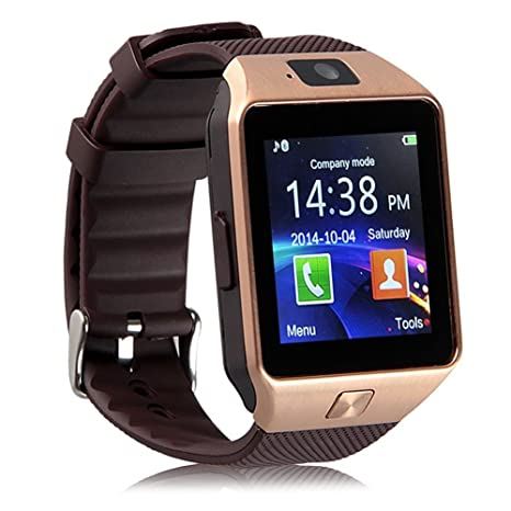 smartwatch ZKCREATION Bluetooth Reloj Inteligente DZ09 smartwatch sim Rastreador Fitness smartwatch Hombre Pulsera Actividad Inteligente whatapp