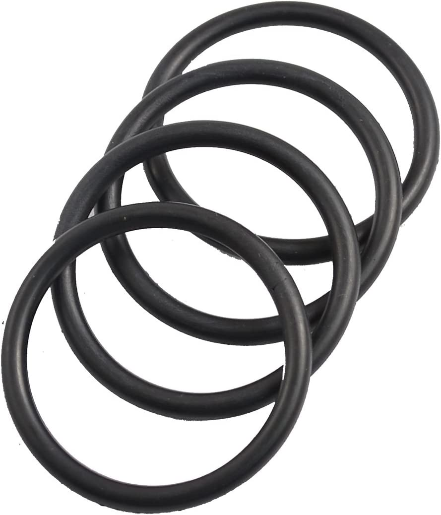 4 x Automobile 40mm OD 3.5mm Thickness Rubber O-Ring Oil Seal Gaskets