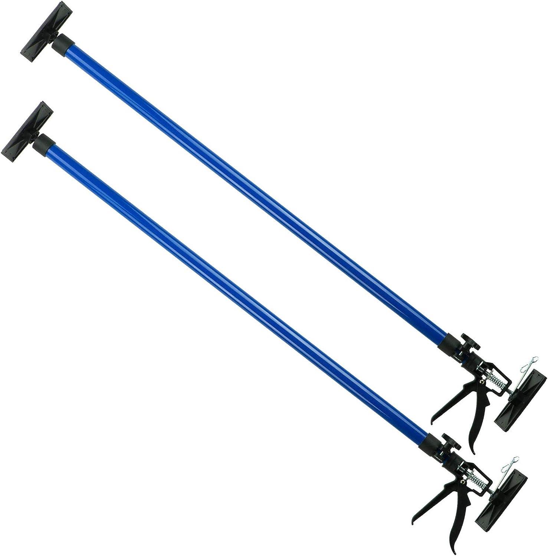 Deckenst/ütze Montagest/ütze Einhandst/ütze Gipsplatte Teleskopst/ütze 115-290cm SN30802 2er Set SN30802-2