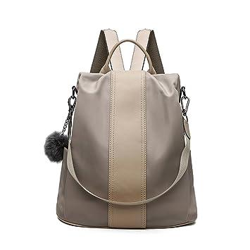 Majome Las mujeres señora mochila hombro bolso de escuela impermeable antirrobo para monedas dinero tarjetas libros titular: Amazon.es: Equipaje