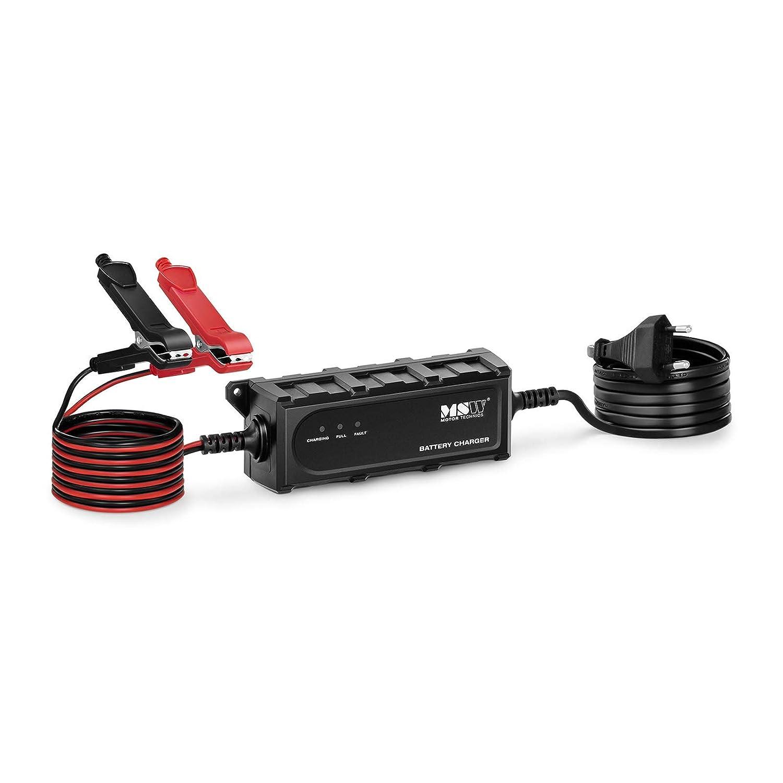 MSW Cargador De Baterías De Coche S-CHARGER-5S1A (Potencia ...