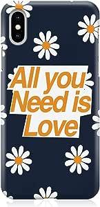 جراب هاتف لاود يونيفيرس يناسب هاتف iPhone XS ملفوف حول الحافظة جراب هاتف All You Need غطاء هاتف Teen iPhone XS