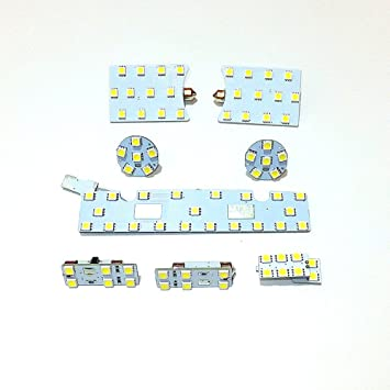 July King 8 pcs 6000 K 79leds 5050SMD LED Interior Lectura Luces para Seat Leon Mk3