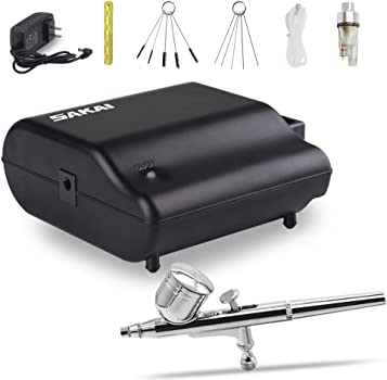 Sakai Dual Action Airbrush for Cake Decorating