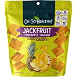 Oh So Healthy! Jackfruit Pineapple Banana Fruit Crisps, 40g