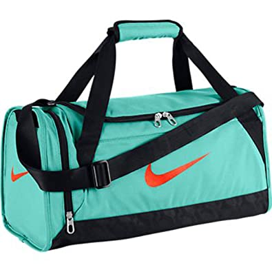 NIKE New Brasilia 6 X-Small Duffel Bag Bleached Turquoise Bleached  Turquoise Hyper ace942ade0332