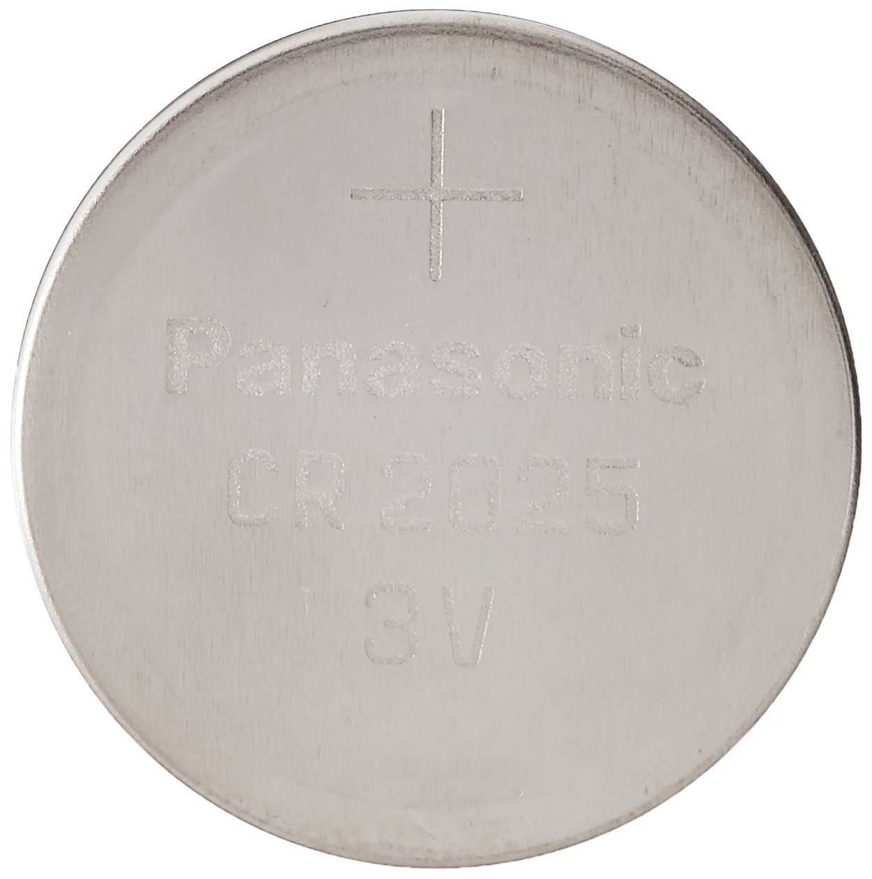 Panasonic CR2025-4 CR2025 3V Lithium Coin Battery (Pack of 4)