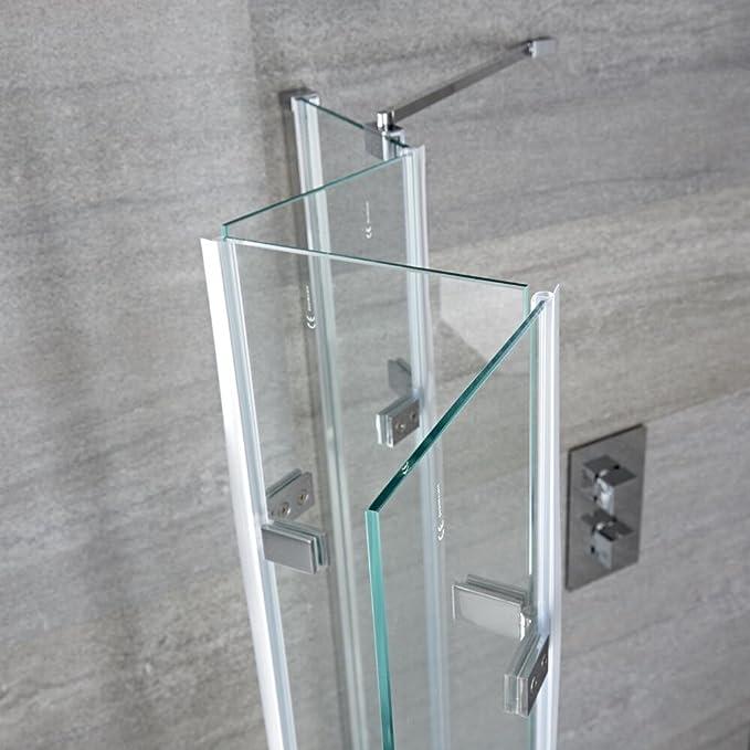 Mampara Puerta de Ducha Bañera Puerta 1400mmx800mm Ahorra Espacio Transparente Seguridad 5mm Hudson Reed: Amazon.es: Bricolaje y herramientas