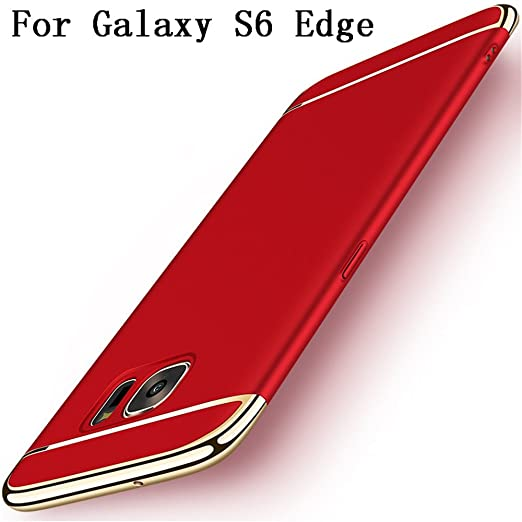 5 opinioni per Galaxy S6 edge Case,Heyqie 3 in 1
