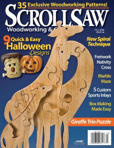 Scroll Saw Woodworking & Crafts - Fall 2009 - Issue 36 ()