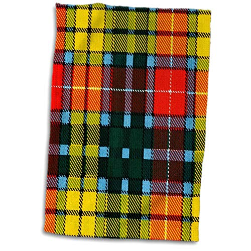 3dRose Russ Billington Patterns- Tartan and Plaid - Image of