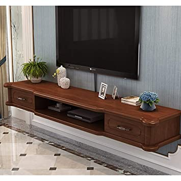 Amazon com: Modern Floating TV Stand Wall Mounted TV Cabinet