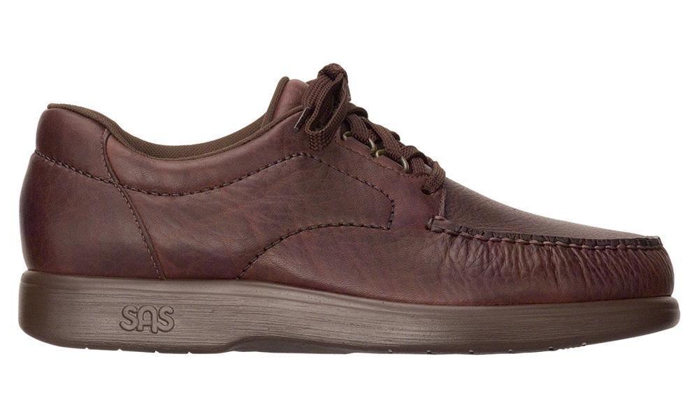 Men's SAS, Bouttime Lace up Shoes 10.5 N - Narrow (C) US|Mulch