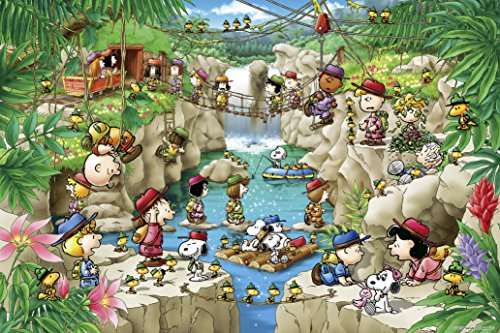 EPOCH 1000 Piece Jigsaw Puzzle Peanuts Snoopy Forest Expedition (50x75cm)