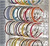 Count of 4, 15.75'' Wide 5''diameter Acrylic Headband Holder Display for Counter