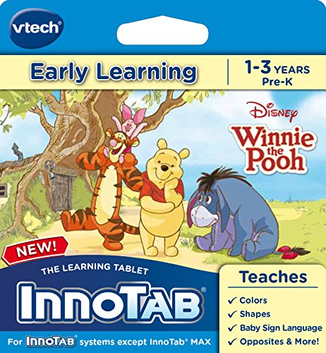 Pooh Notepad - VTech InnoTab Software, Winnie The Pooh