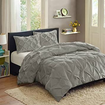 Amazoncom Better Homes and Gardens Pintuck 3 Piece Bedding