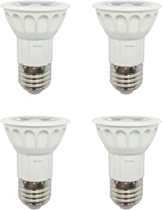 (4)-LED Bulbs Replacement for Range Hood Halogen Light Bulbs AP3203068 WB08X10028 50W 120V