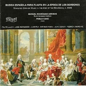 Música Española para Flauta en la Época de los Borbones