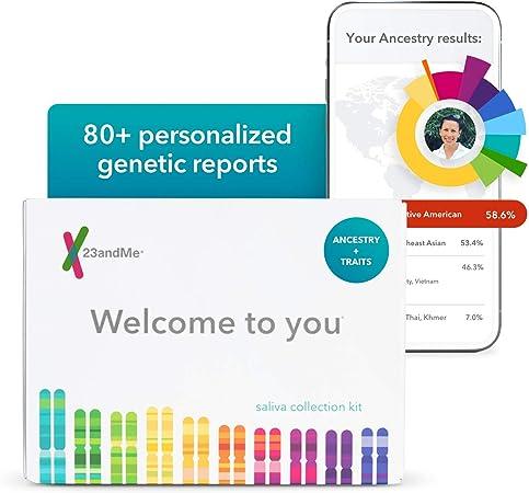 23andMe Ancestry + Traits